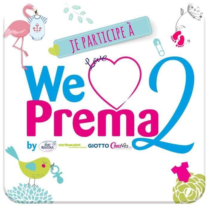Je participe à We Love Préma 2