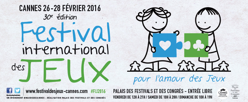 Festival International des Jeux 2016 à Cannes