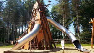 """Aire de jeux Outdoor de Center Parcs """"Le bois aux daims"""""""