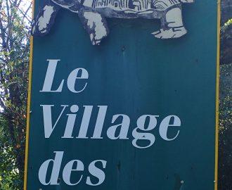 Panneau Village des Tortues