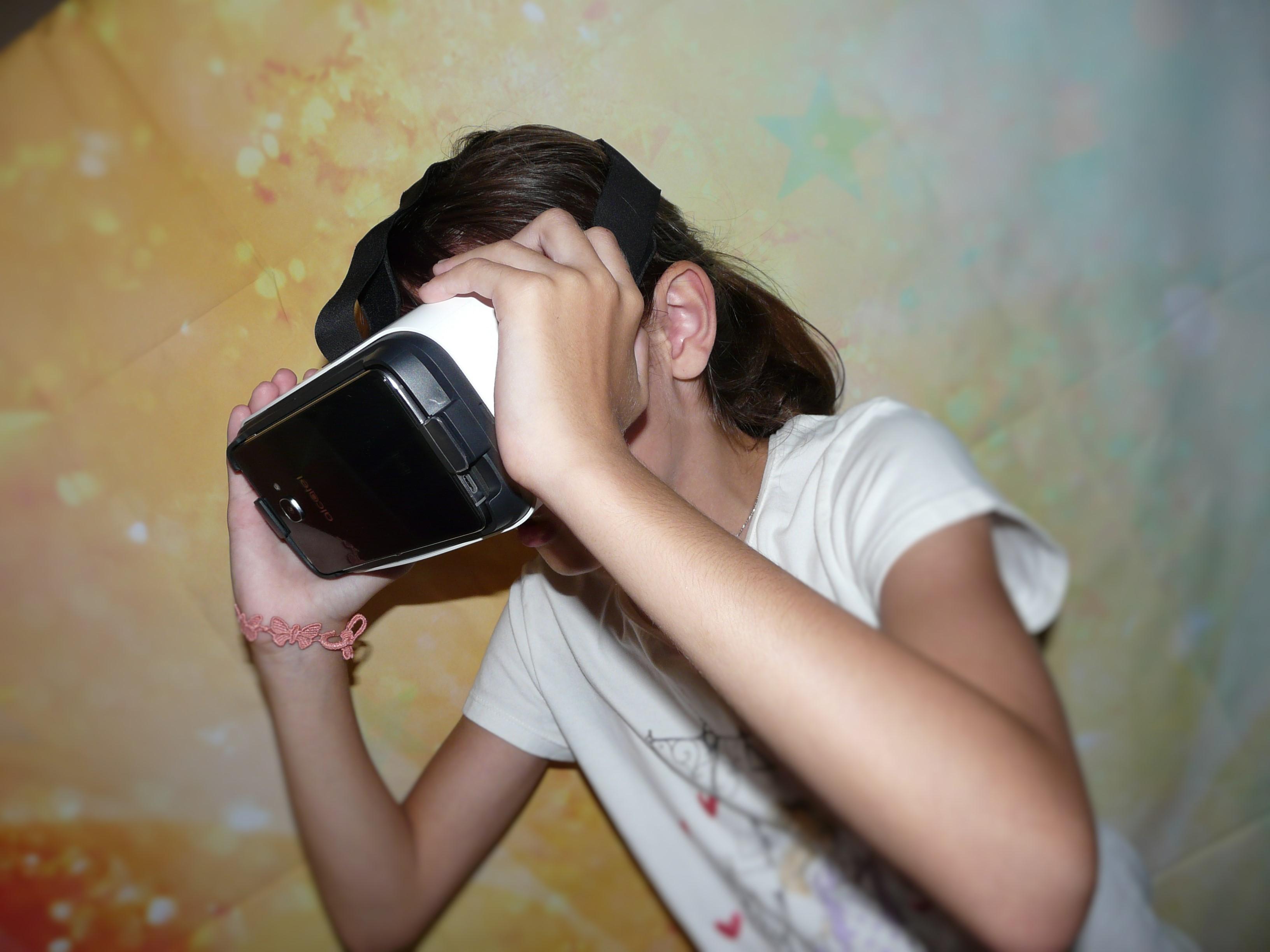 Masque Réalité Virtuelle Alcatel Idol 4S